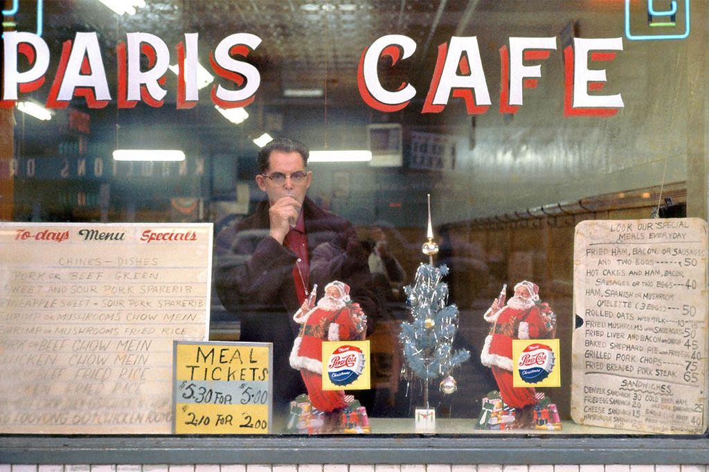 Меню кафе «Париж» 1959-го года.