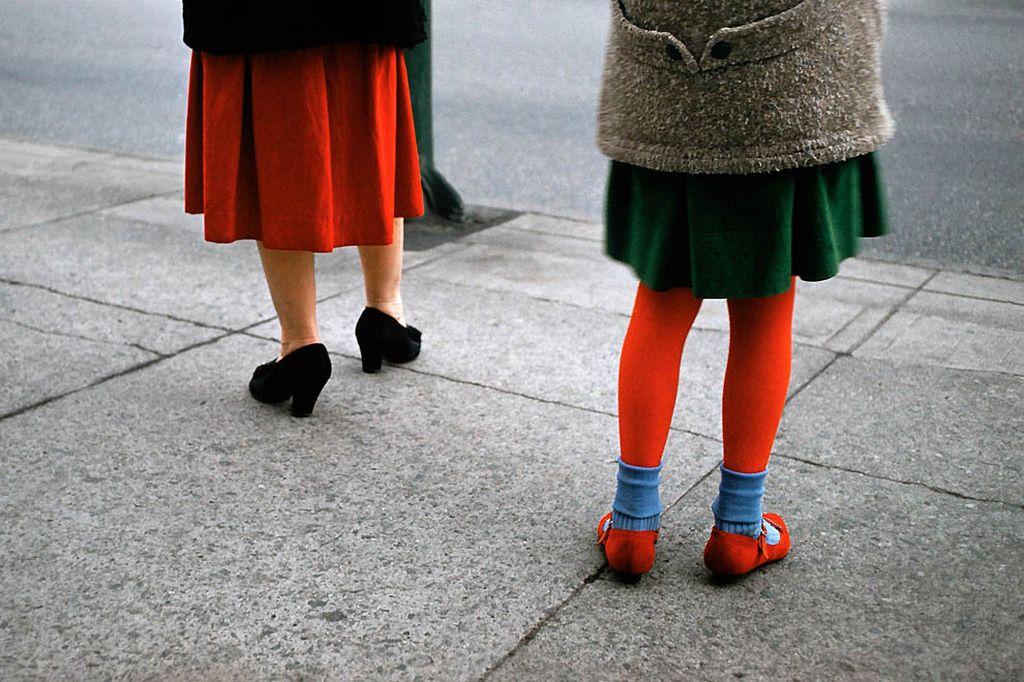 Цветные фотографии Фреда Херцога