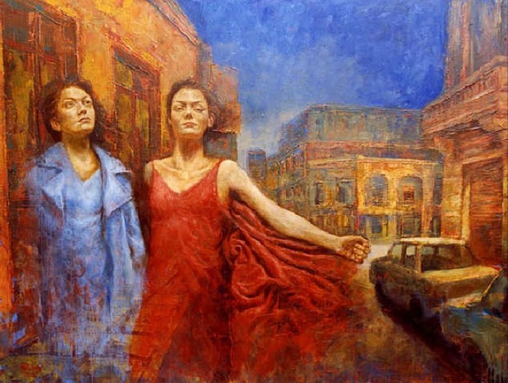 Картины современного аргентинского художника Мартин Ривнидж (Martin Riwnyj)