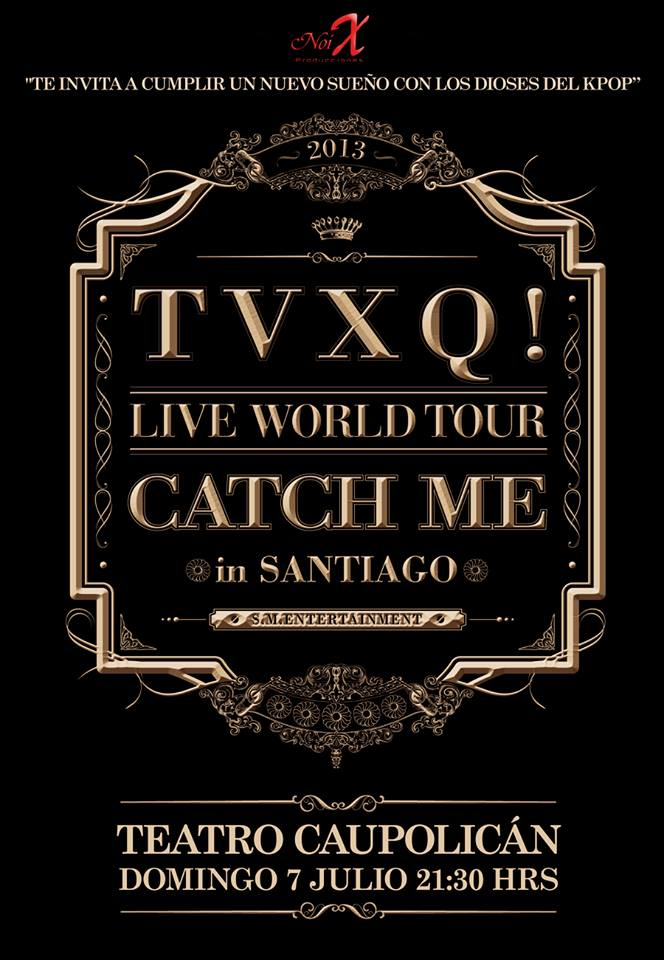Catch me world tour en Chile!