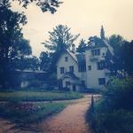 дом поленово в дымке