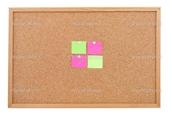 depositphotos_4812499-Blank-sticky-notes-pinned-on-cork-memo-board