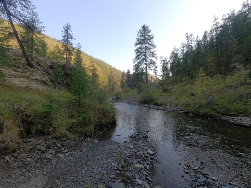 Дорога, река и мокрые ботинки по итогу