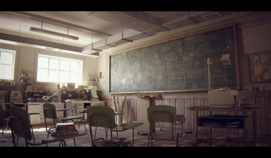 4this-artist-created-a-classroom-scene-and-gave-it-different-lighting-treatments1