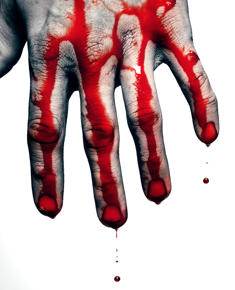 Картинки кровь руки