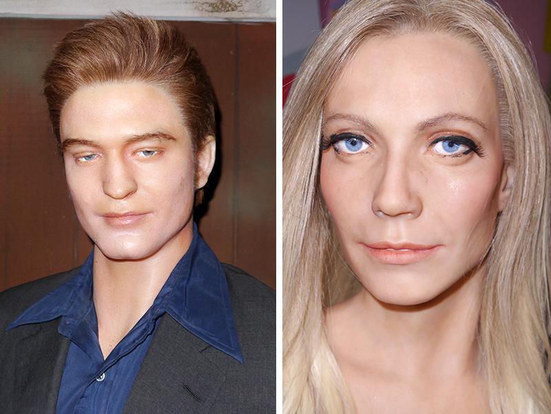 Horrible celebrity wax figures