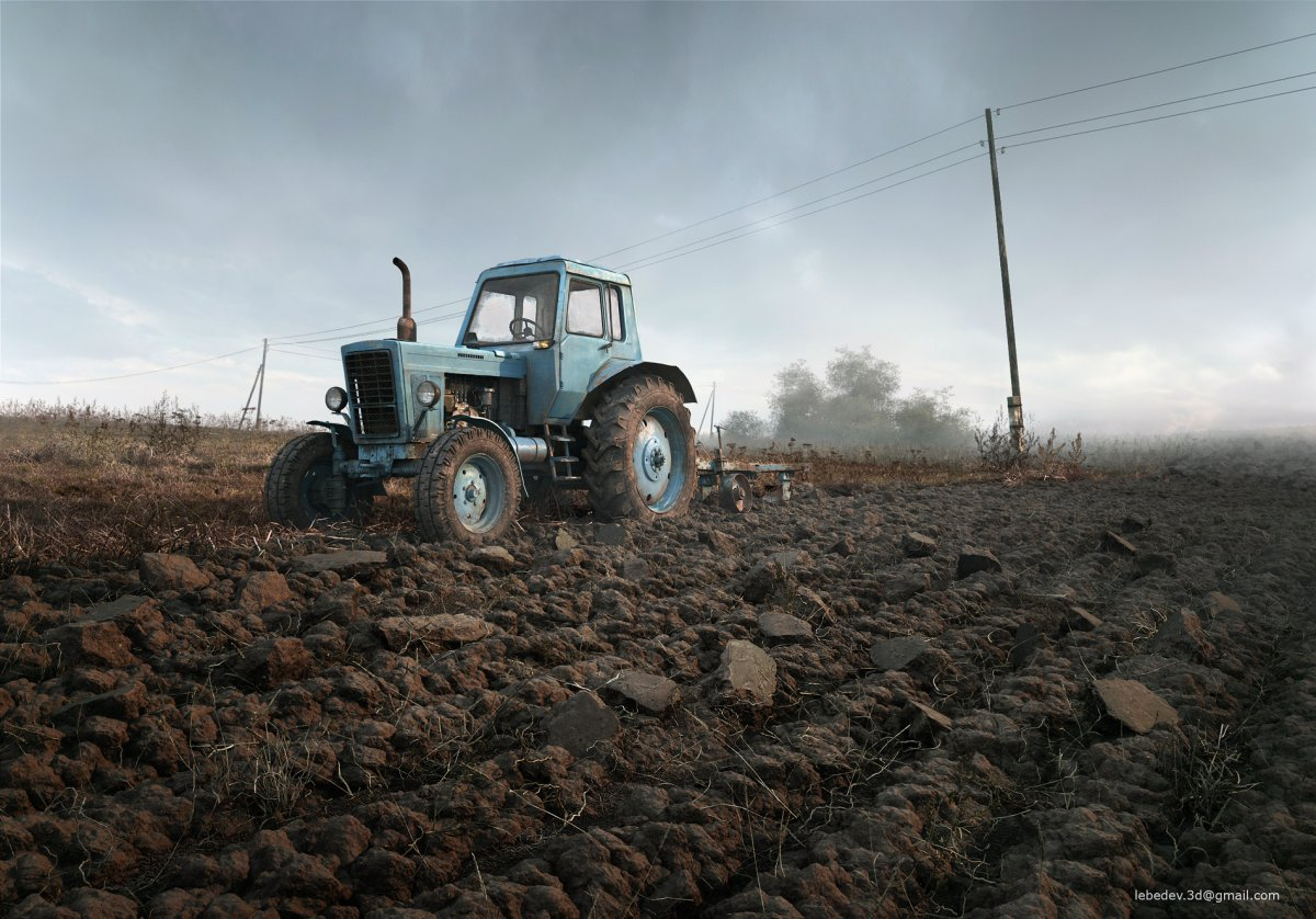 a-lonely-farm-scene