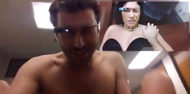 Порно снятое на умные очки