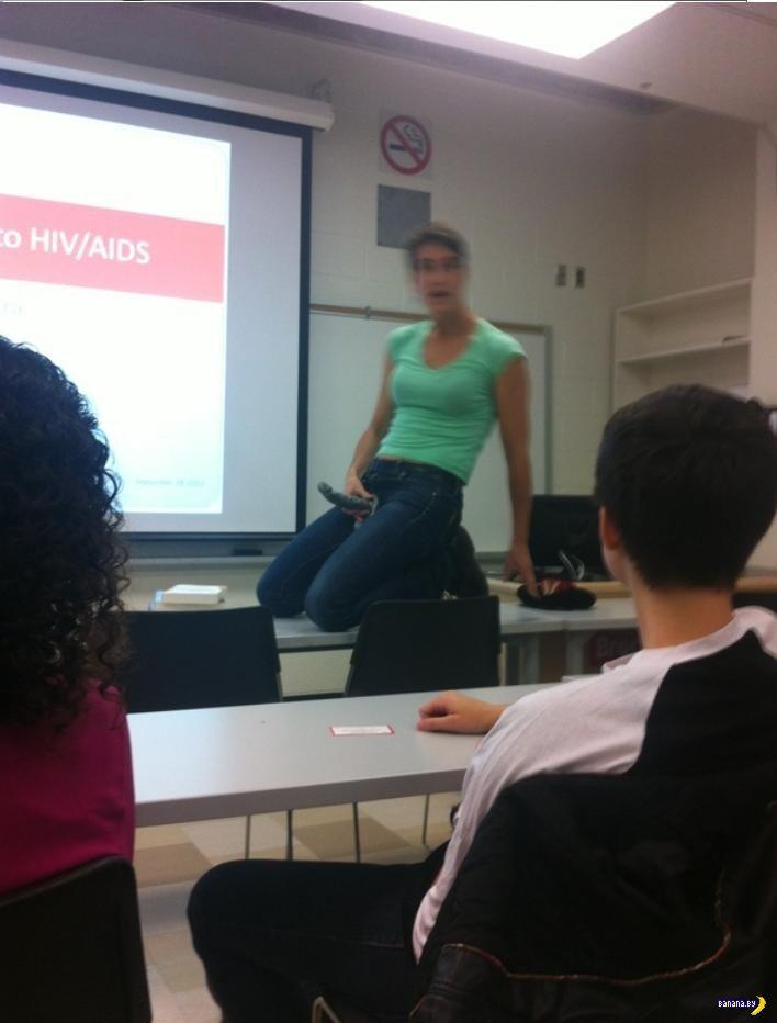 Секс урок в классе