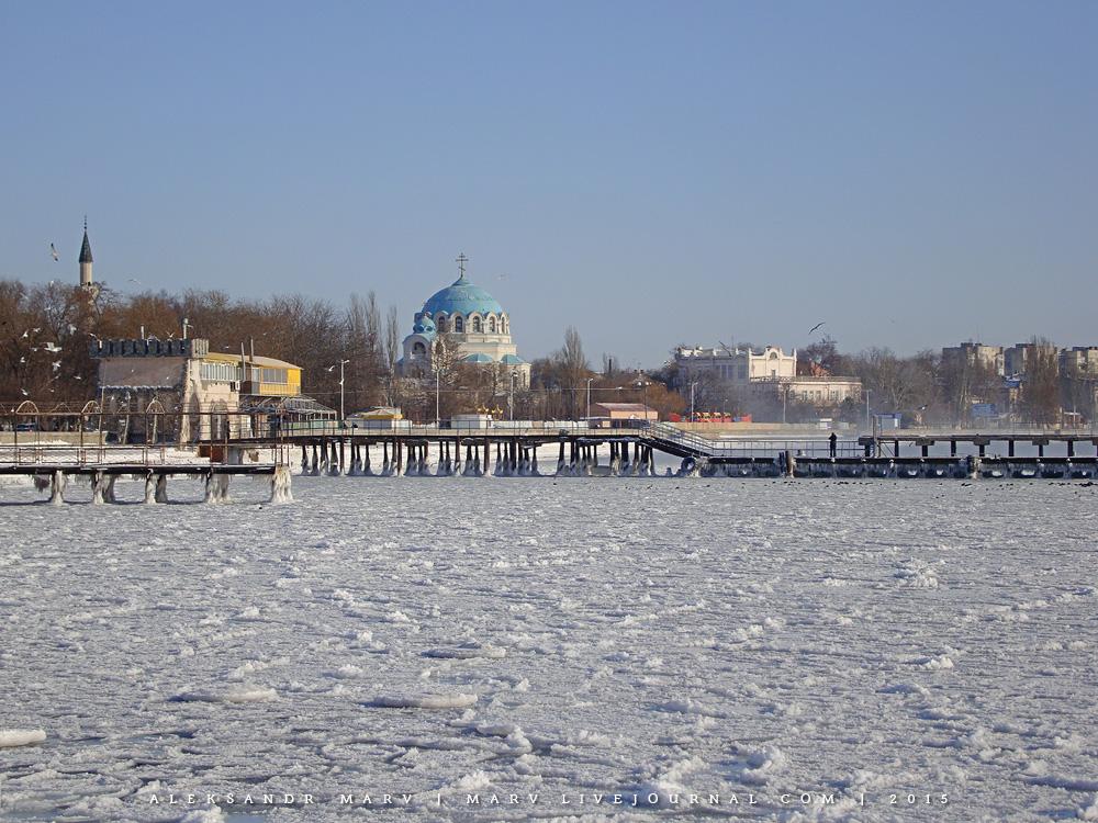 Когда замёрзло Чёрное море