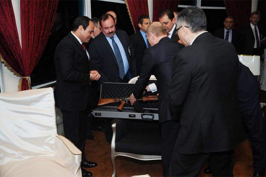 Подарки Путина