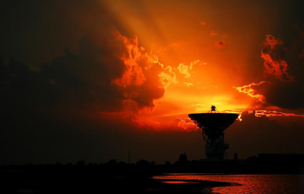 Центр дальней космической связи в Евпатории
