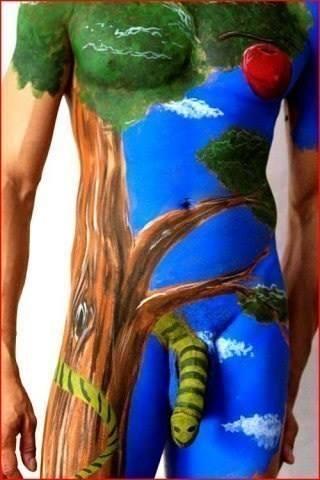бодиарт половых органов фото