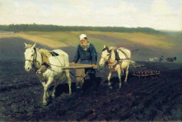 Лев Толстой на картинах Ильи Репина