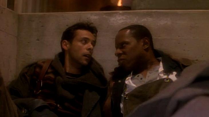 Suddenly homeless--Sisko and Bashir