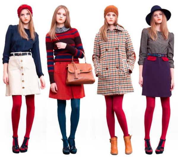 Платья разноцветные с чем носить