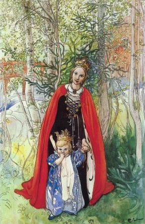 Carl_Larsson_Spring_Princess_1898