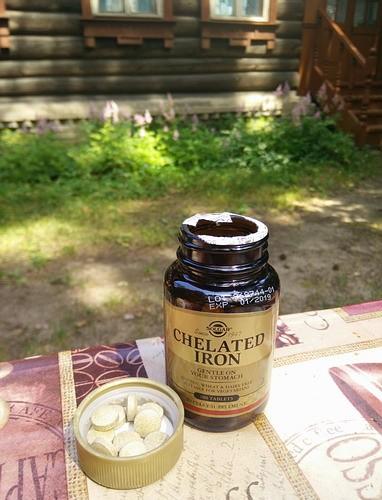 Лучшие витамины железо отзывы