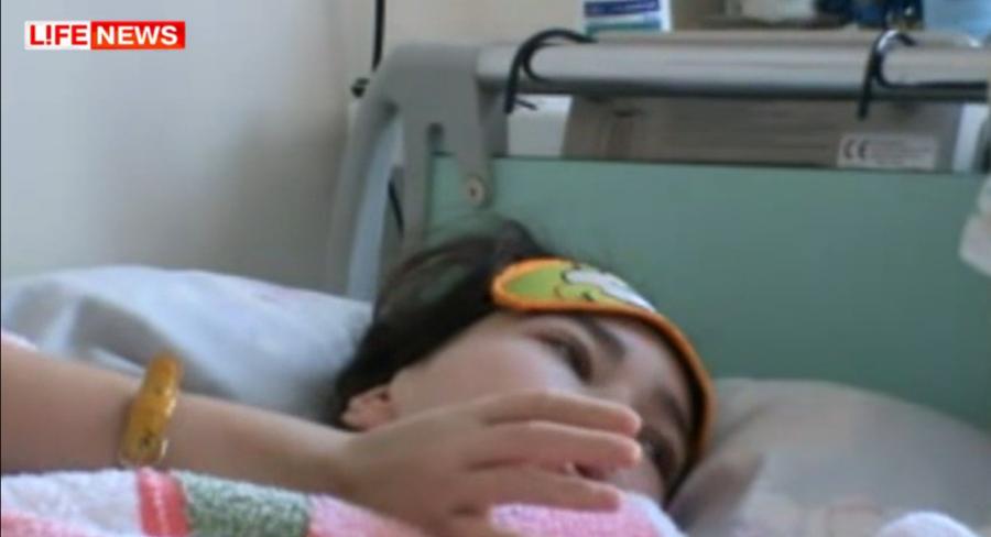 13 летняя девочка выжила