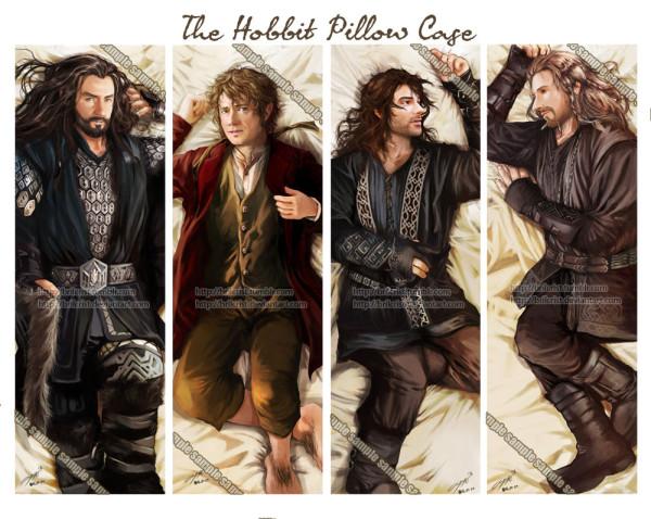 the_hobbit_pillow_case_design_by_brilcrist-d5y3j7m