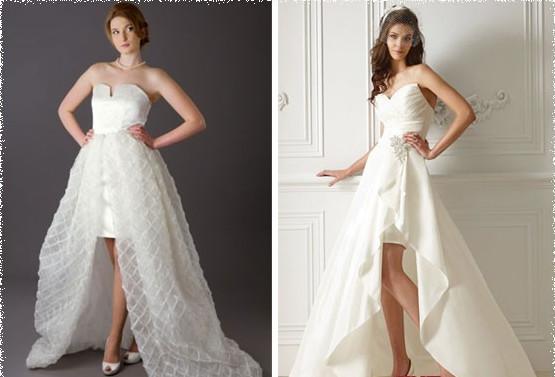 Как сделать юбку в свадебном платье