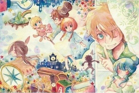 Peter Pan - dreaming