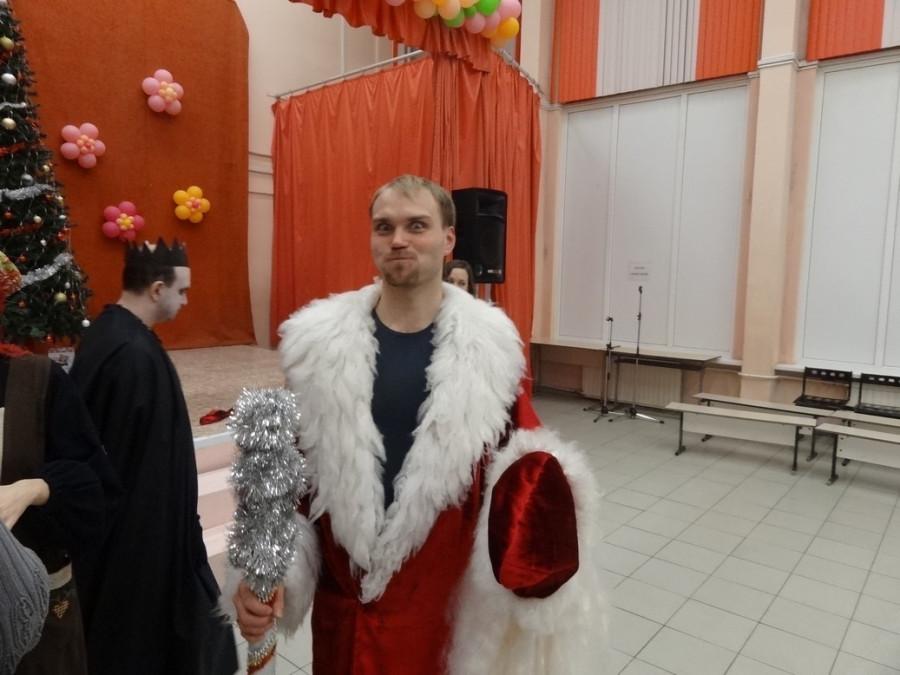 Дед Мороз в перерыве
