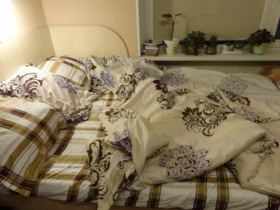 Разобранная постель