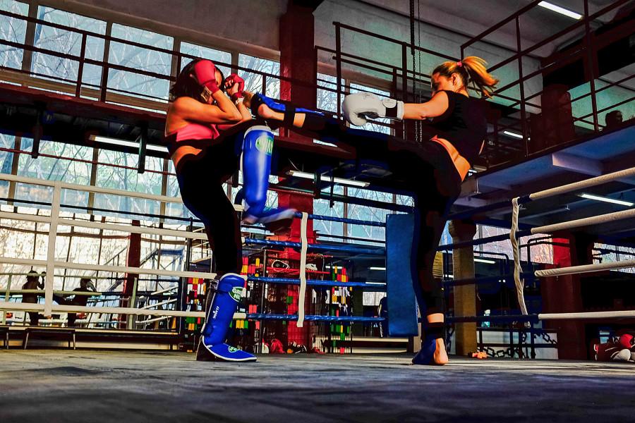 Девушки очень смотрятся на ринге фото 207-453
