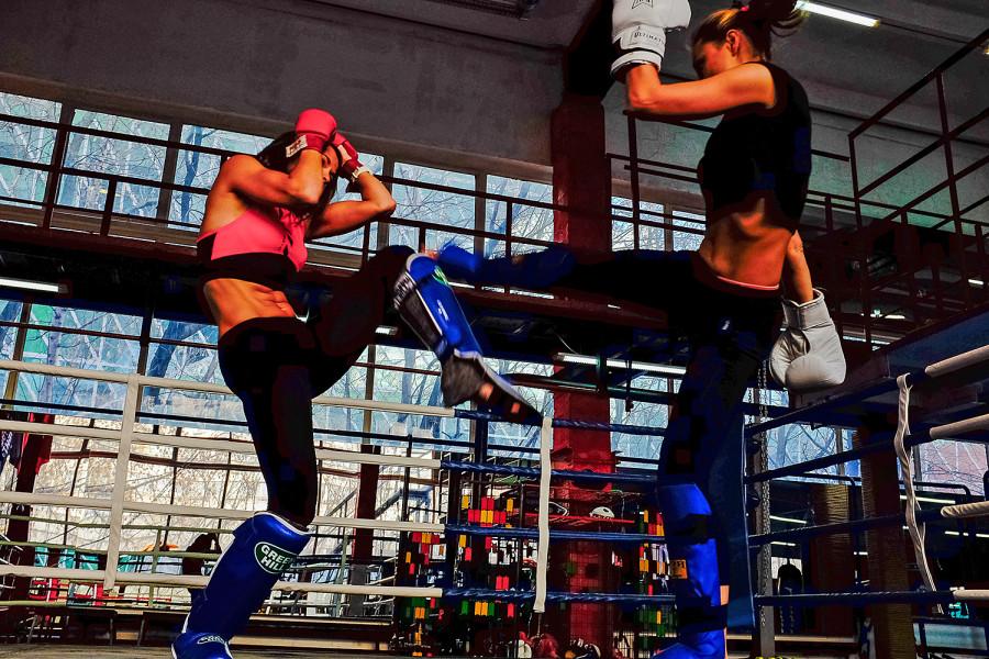 Девушки очень смотрятся на ринге фото 207-721