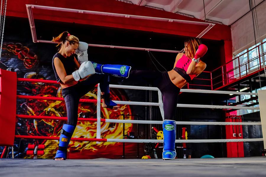 Девушки очень смотрятся на ринге фото 207-19