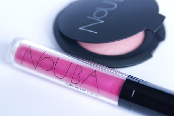 Nouba Lipshine Volume #86 / Nouba Blush on Bubble #55