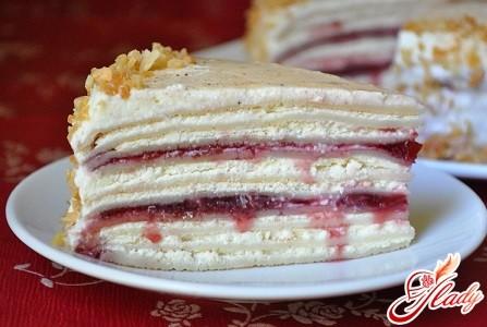 рецепты и фото блинных тортов