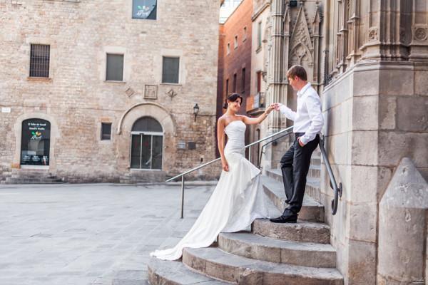 Фотограф в Барселоне, фотограф в Испании, свадебная фотосессия в Барселоне Наталья и Сергей (7)