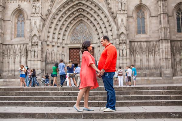 фотограф в Барселоне, фотограф в Испании, семейная фотосессия в Барселоне Мария и Александр (1)