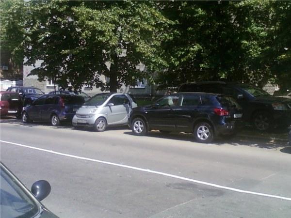 smart парковка