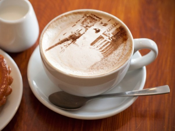 кофе танк