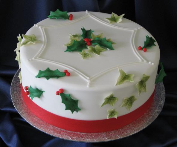 Christmas cake english