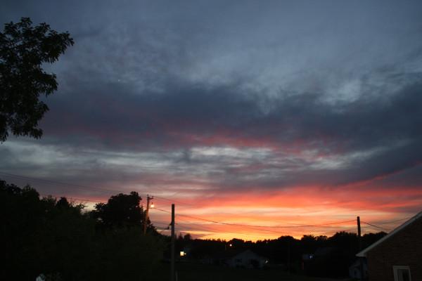 Sunset June 3