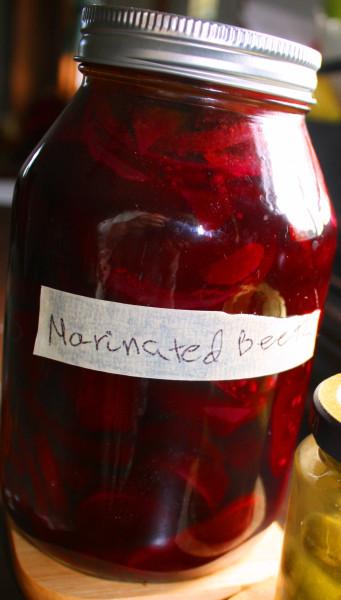 Zagotovki marinated beets