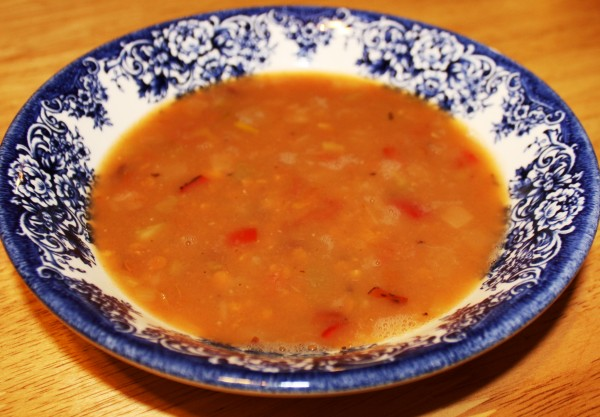 Maghreb lentil soup