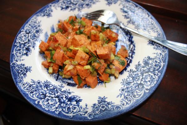 Yams salad