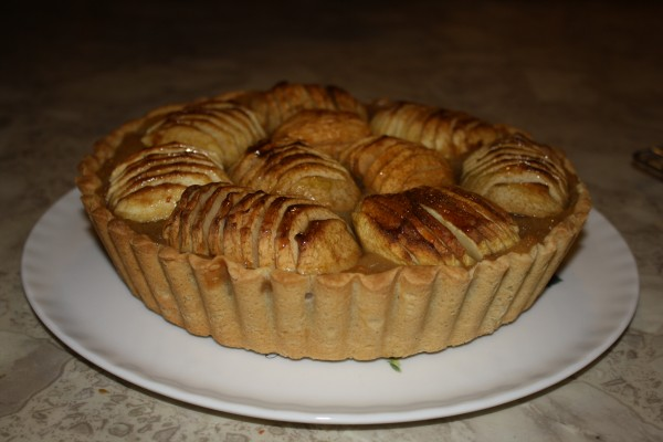French apple pie 3