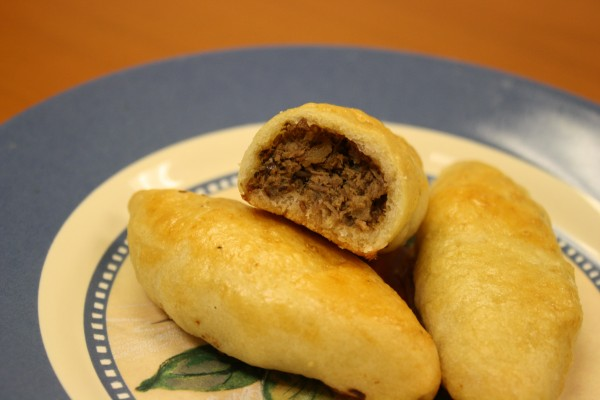 Piroshki with meat