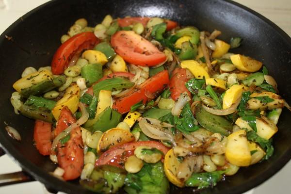 Zucchini Provence style