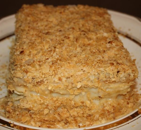 Napoleon whole cake