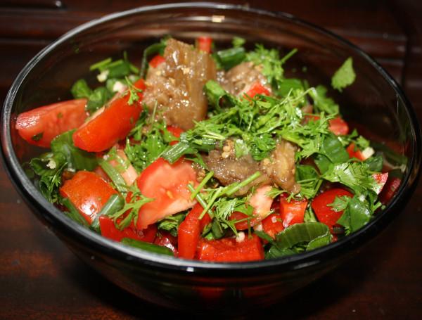 Eggplant salad Armenian