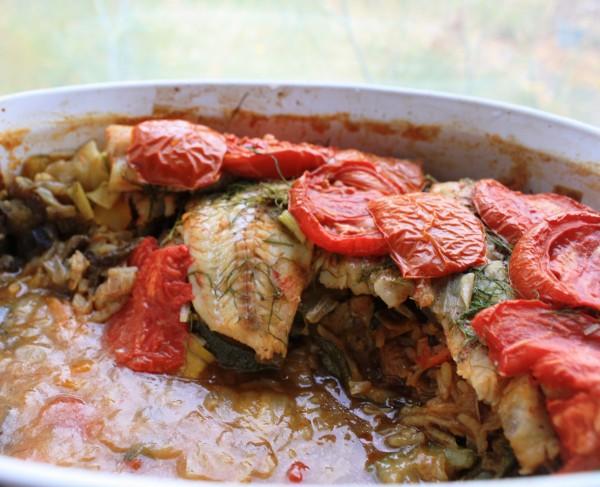 Balcan cuisine Fish guvech