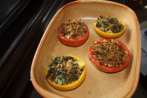 Tomatoes baked Peterson