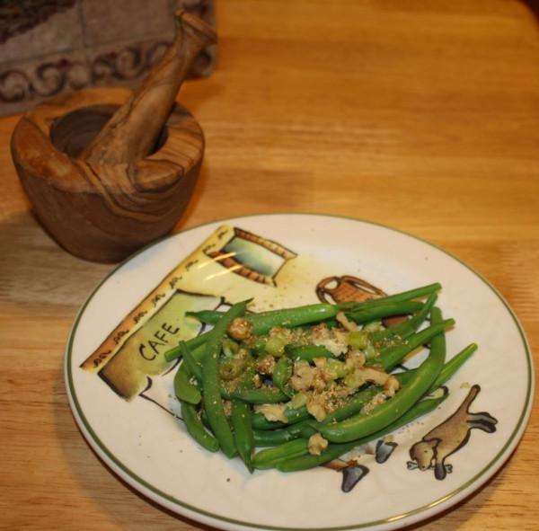 Phali green beans